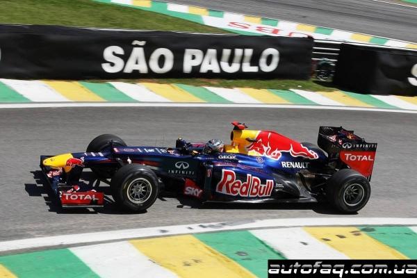 Гран При Бразилии(итоги квалификации)
