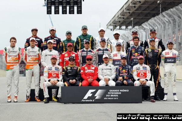 гран при Бразилии 2012 Формула-1