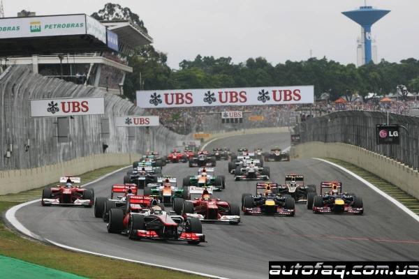 гран при Бразилии 2012 результаты гонки
