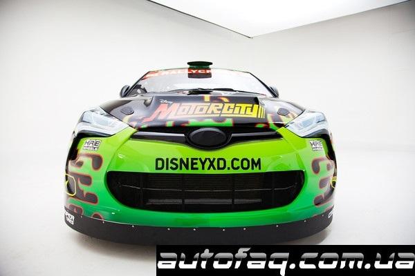 Hyundai Veloster Turbo Rhys Millen Racing