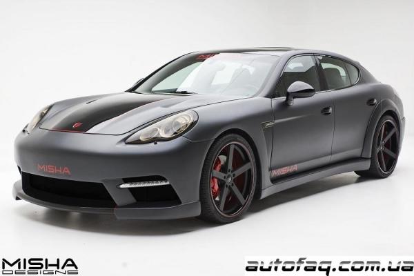 Misha Designs Porsche Panamera GTM