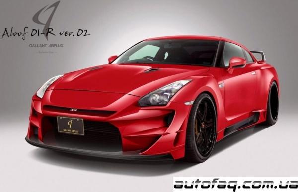 Nissan GT-R Aloof 01-R Version 2
