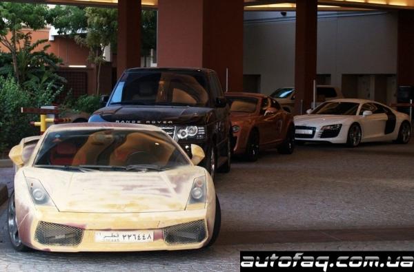 Потёртый Lamborghini Gallardo