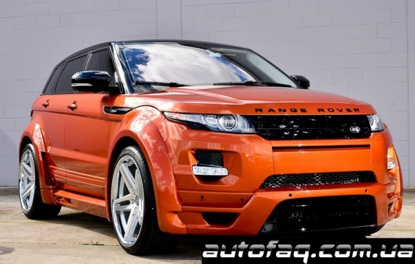 Ultimate Auto Range Rover Evoque