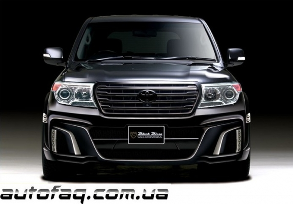 Wald Toyota Land Cruiser Black Bison