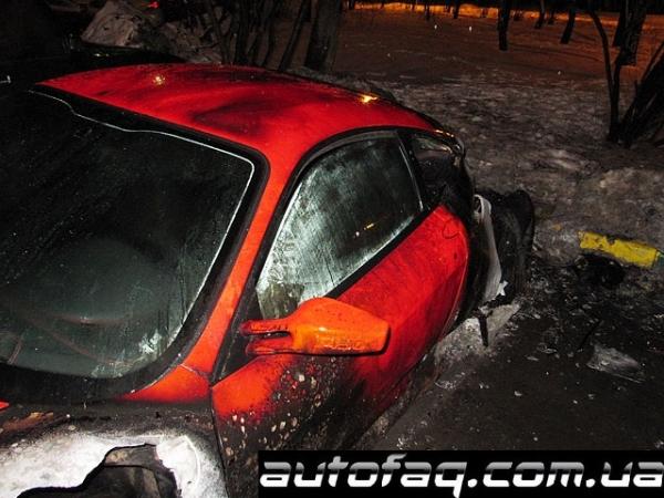 Ferrari F430 сгорела