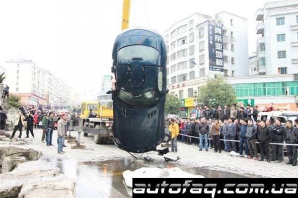 Mercedes-Benz SLS AMG разбили