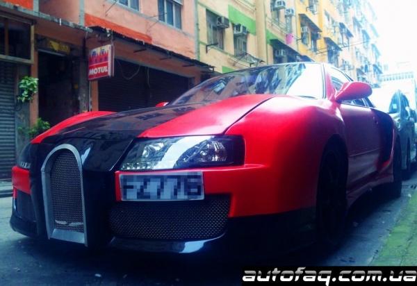 фейковый Bugatti Veyron
