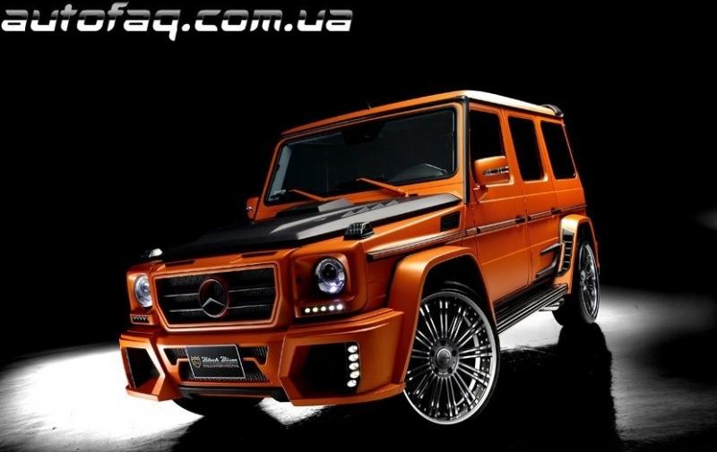 Wald G-Class Sports Line Black Bison / Тюнинг / Autofaq ...