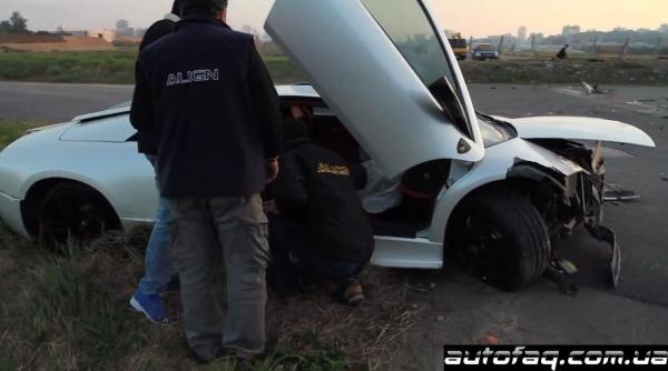 разбили Lamborghini Murcielago LP640