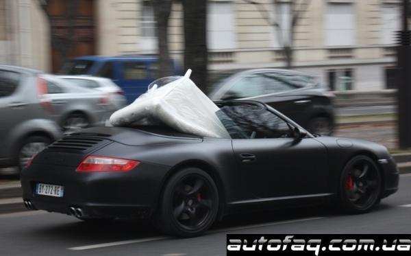 матовый Porsche 997 Carrera