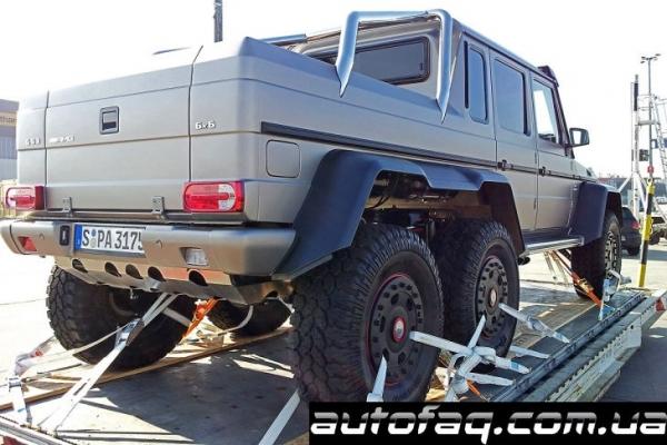 G 63 AMG 6x6 V8 Biturbo