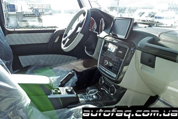 интерьер Mercedes-Benz G63 AMG