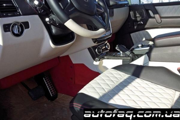 Mercedes-Benz G63 AMG интерьер