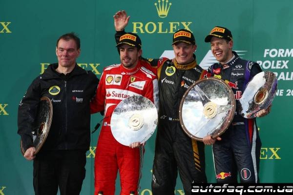 Формула 1 гран при Австралии 2013
