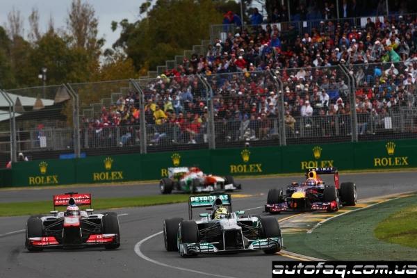 Формула 1 гран-при Австралии