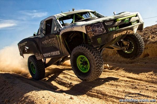 BJ Baldwin Trophy Truck