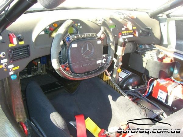 Mercedes-Benz CLK GTR-LM Track Racer