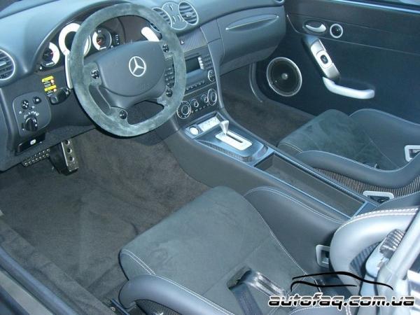 интерьер Mercedes-Benz CLK DTM