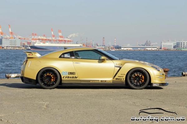 Top Secret Nissan GT-R R35