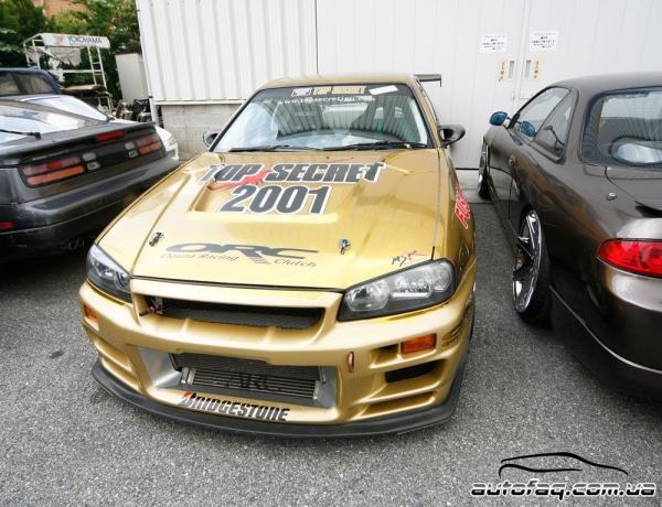 Nissan Skyline R34 Top Secret