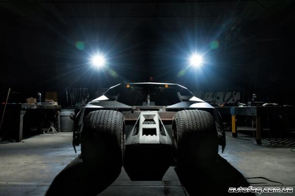 Gumball 3000 Batman Tumbler