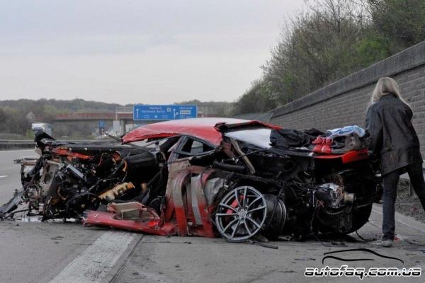 Разбили Ferrari 430 Scuderia