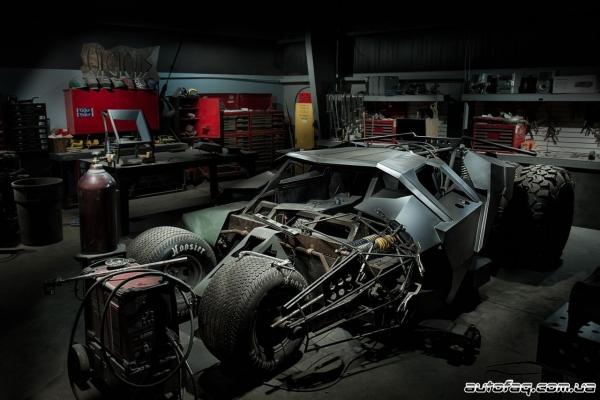 Бэтмобиль для Gumball 3000