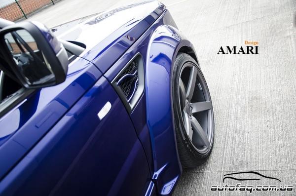 Amari Design Blue Range Rover Windsor Edition