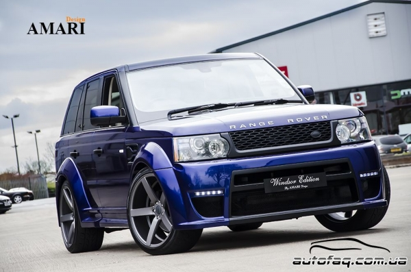 Amari Design Blue Range Rover Windsor Edition
