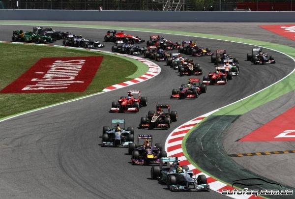гран при Испании 2013 результаты гонки