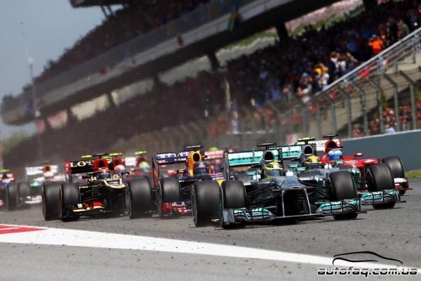 гран-при Испании 2013 результаты гонки