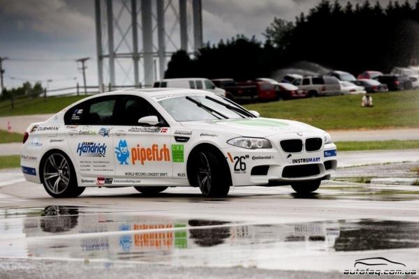 рекорд дрифт BMW M5