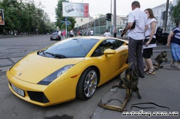 Lamborghini Gallardo прикол
