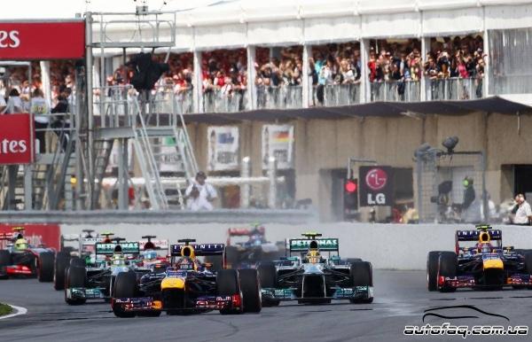 Формула 1 гран при Канады 2013