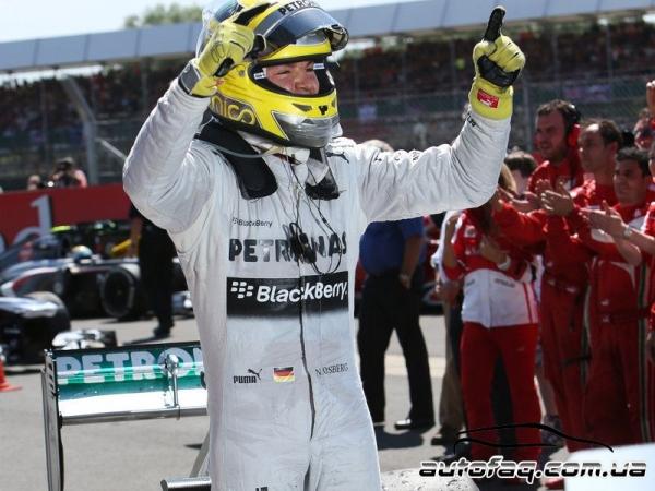 Гран При Великобритании 2013 (результаты гонки)