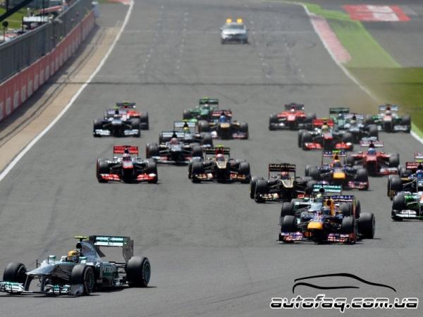 Гран При Великобритании(результаты гонки)
