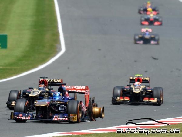 Гран При Великобритании (результаты гонки)