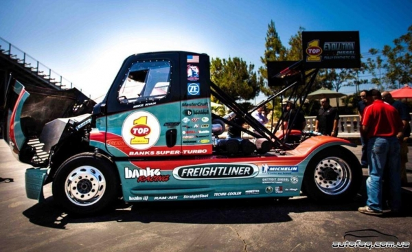 Banks Super-Turbo Freightliner