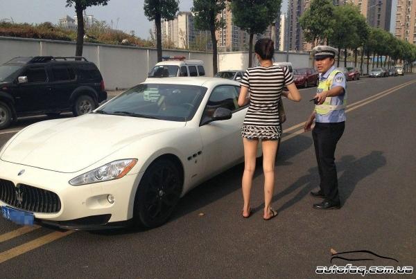 парковка Maserati GranTurismo