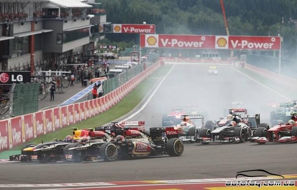 Гран при Бельгии итоги гонки