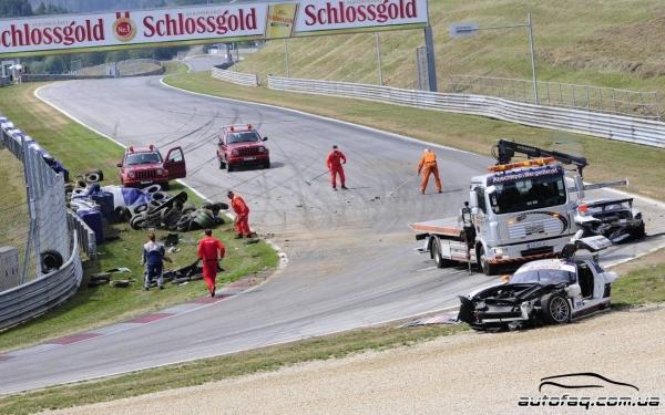 Red Bull Ring авария