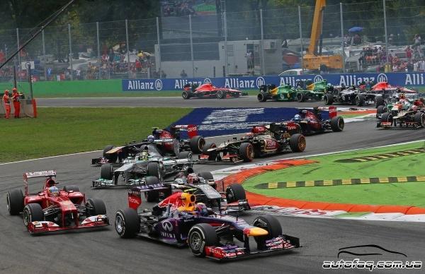 гран при Италии 2013 результаты гонки