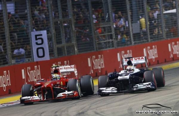 гран при Сингапура 2013 результаты гонки