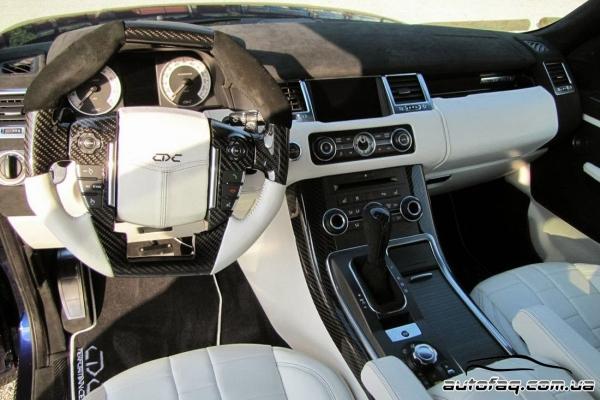 интерьер CDC Performance Range Rover Sport Mk1