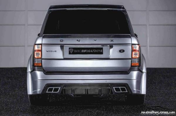 Onyx Range Rover Vogue Aspen Edition