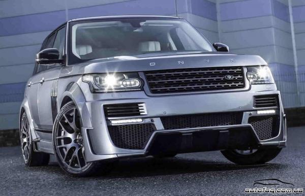 Onyx Concept Range Rover Aspen Edition