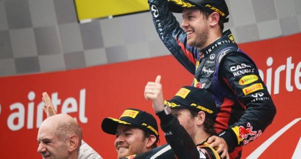 Гран при Индии 2013 результаты гонки