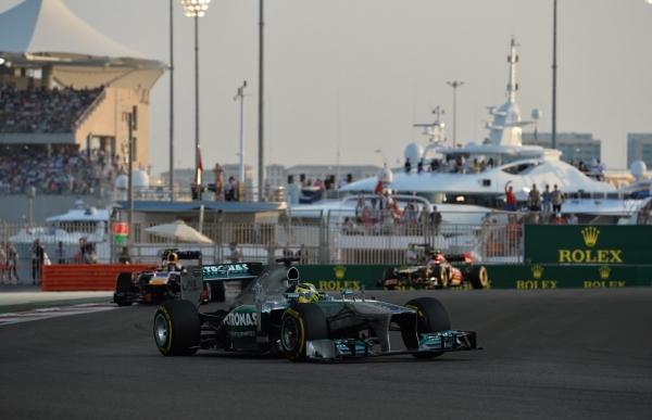 гран при Абу-Даби 2013 результаты гонки