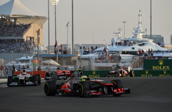 Формула 1 гран при Абу-Даби